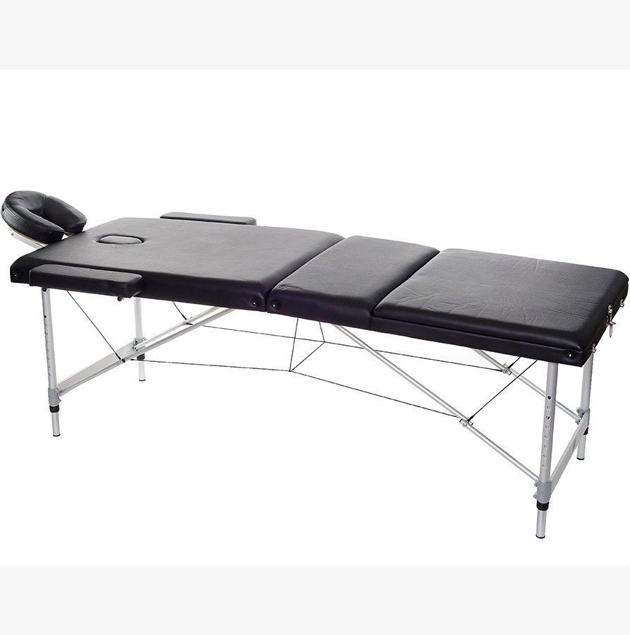 Массажный стол HouseFit HY-3381 черный