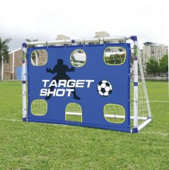 Футбольные ворота Outdoor-Play Target Shot & Soccer Goal 6ft фото