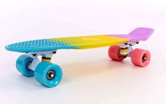 Скейтборд Penny Board Fish Color SK-402-6 фото