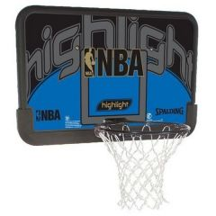 "Баскетбольный щит Spalding NBA Highlight 44"" Composite 80453CN фото"